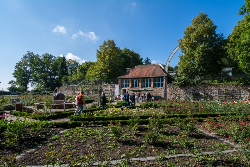 Schlosscafe im Rosengarten