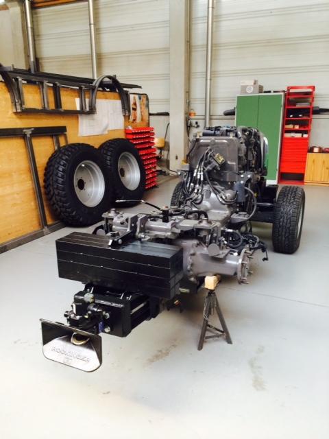 Traktor Fahrgestell